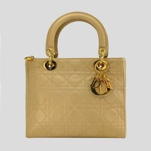 Lady Dior Top Handle Bag